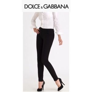 Dolce & Gabbana Stretch Riding Pants